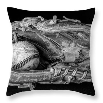 Spring Training Throw Pillow by Jeff Burton