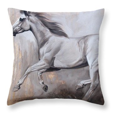 Sprint Throw Pillow by JQ Licensing