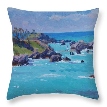 St Catherines Throw Pillow by Dianne Panarelli Miller