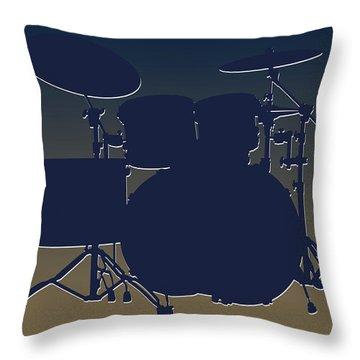 St Louis Rams Drum Set Throw Pillow by Joe Hamilton