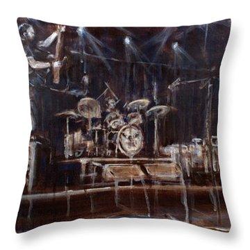 Stage Throw Pillow by Josh Hertzenberg
