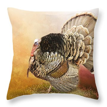 Standing Proud Throw Pillow by Betty LaRue