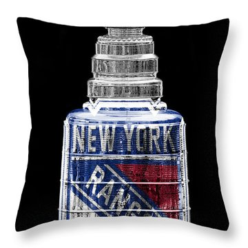 Stanley Cup 4 Throw Pillow by Andrew Fare