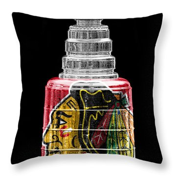 Stanley Cup 6 Throw Pillow by Andrew Fare