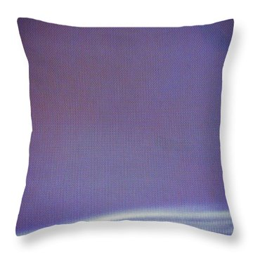 Stellar Ribbon Throw Pillow by Eric Canuel