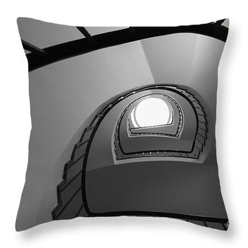 Steppin Up  Throw Pillow by Hannes Cmarits