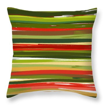Stimulating Essence Throw Pillow by Lourry Legarde