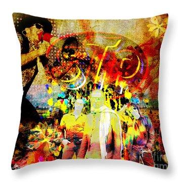 Stone Temple Pilots Original  Throw Pillow by Ryan Rock Artist