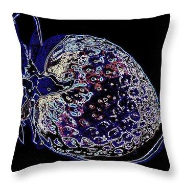 Strange Fruit Throw Pillow by Martin Howard