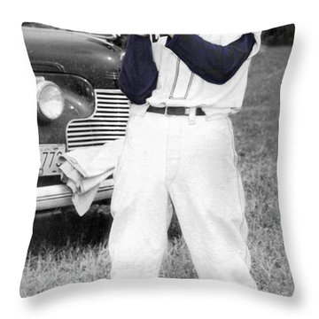 Stump  Throw Pillow by Brian Wallace