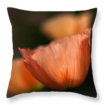 Suenos De Flores Throw Pillow by Joe Schofield
