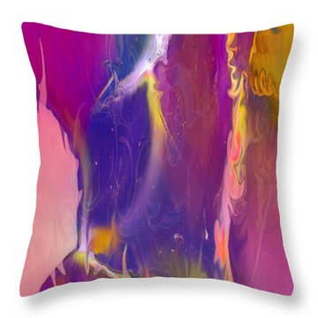 Sultry Movement Throw Pillow by Omaste Witkowski