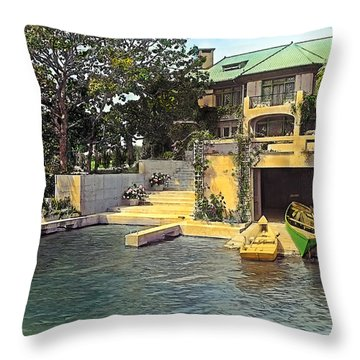Summer Home Throw Pillow by Terry Reynoldson