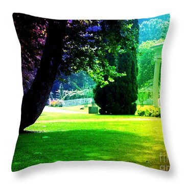 Summer House Throw Pillow by Michelle Stradford