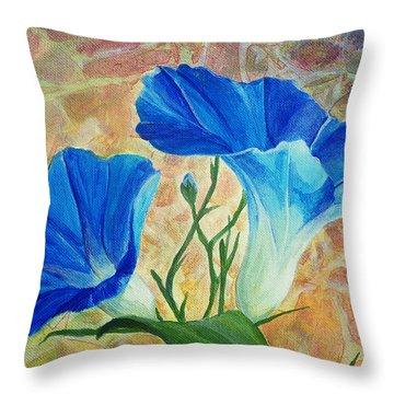Summer Morning Throw Pillow by Arlissa Vaughn