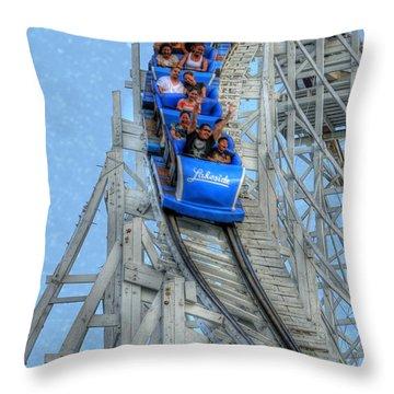 Summer Time Thriller Throw Pillow by Juli Scalzi
