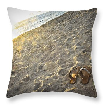 Summer's End Throw Pillow by Ann Patterson