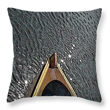 Summertime Serenity Throw Pillow by Tim Allen