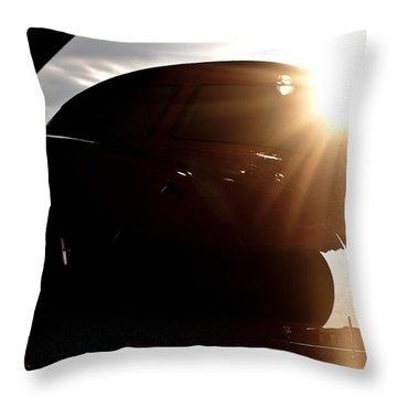 Sun Flare  Throw Pillow by Paul Job