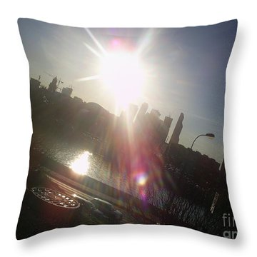 Sun Passion Throw Pillow by Anna Yurasovsky
