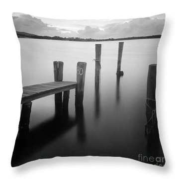 Sunrise At Tuncurry New South Wales Throw Pillow by Colin and Linda McKie