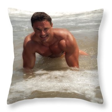 Swamped Throw Pillow by Thomas Mitchell