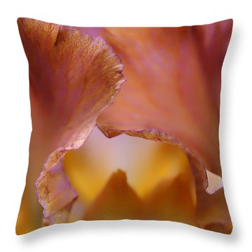 Sweet Nothings Throw Pillow by Nikolyn McDonald