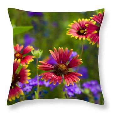 Sweet Summer  Throw Pillow by Saija  Lehtonen