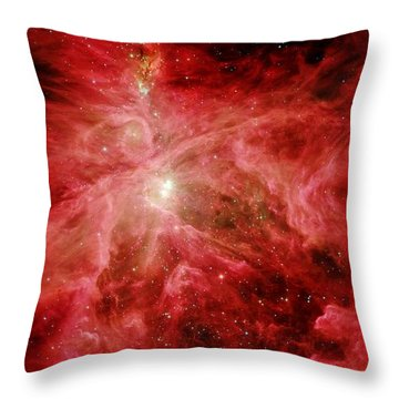Sword Of Orion Throw Pillow by Benjamin Yeager