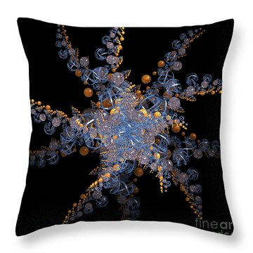 Synchronized  By Jammer Throw Pillow by First Star Art