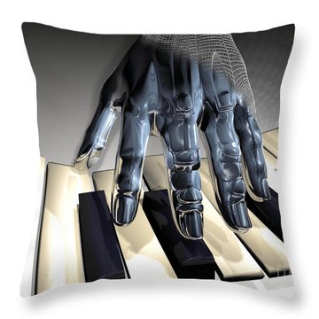 T-age Throw Pillow by Eric Nagel