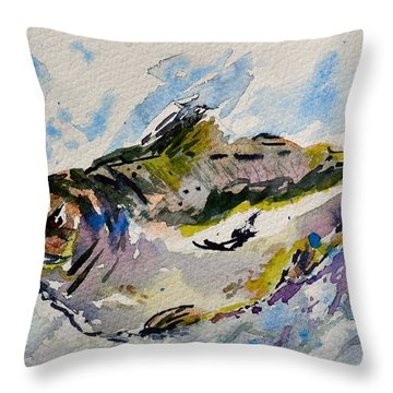 Take The Bait Throw Pillow by Beverley Harper Tinsley