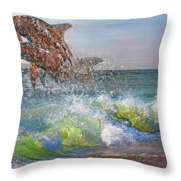 Taken For Granted Throw Pillow by Betsy Knapp