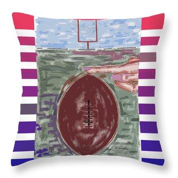 Team America Throw Pillow by Patrick J Murphy