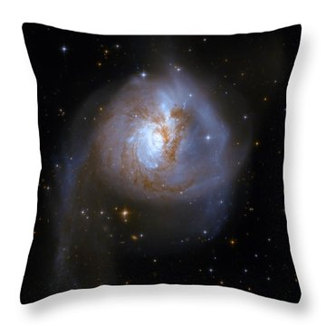 Tear Drop Galaxy Throw Pillow by The  Vault - Jennifer Rondinelli Reilly
