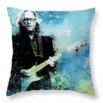 Tears In Heaven 3 Throw Pillow by Bekim Art