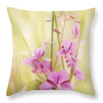 Tendresse Throw Pillow by Priska Wettstein