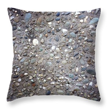 Textured Background Throw Pillow by Les Cunliffe