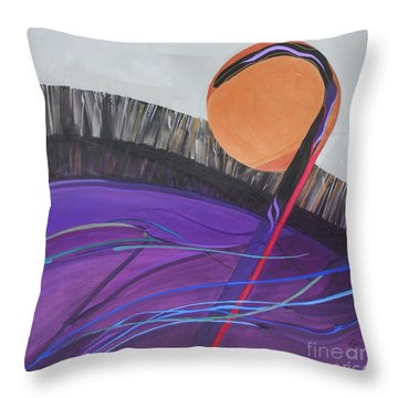 The 23rd Psalm  The Lord Is My Shepherd Throw Pillow by Marlene Burns
