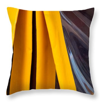 The Angle Project - Covered Angle - Featured 2 Throw Pillow by Alexander Senin