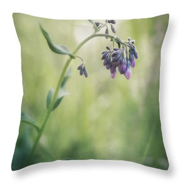 The Arrival Of Spring Throw Pillow by Priska Wettstein