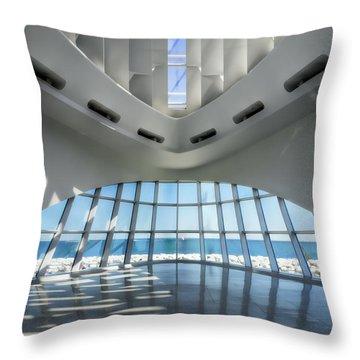 The Art Of Art Throw Pillow by Joan Carroll