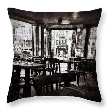 The Belcourt Throw Pillow by Natasha Marco