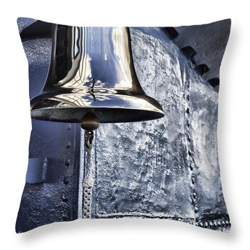 The Bell-uss Bowfin Pearl Harbor Throw Pillow by Douglas Barnard