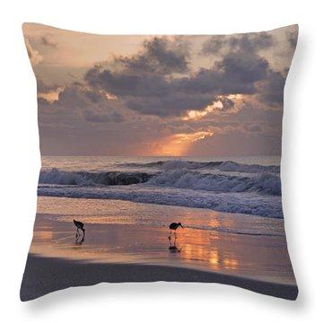 The Best Kept Secret Throw Pillow by Betsy Knapp