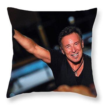 The Boss Throw Pillow by Rafa Rivas