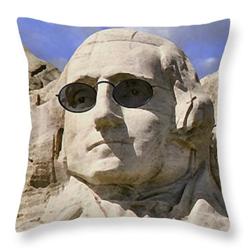 The Boys Of Summer 2 Panoramic Throw Pillow by Mike McGlothlen