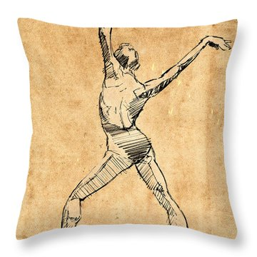 The Button Throw Pillow by H James Hoff