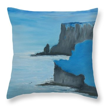 The Cliffs Of Moher Throw Pillow by Conor Murphy