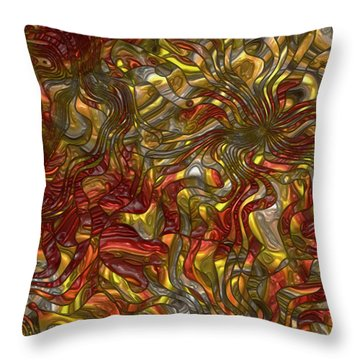 The Dance Throw Pillow by Jack Zulli